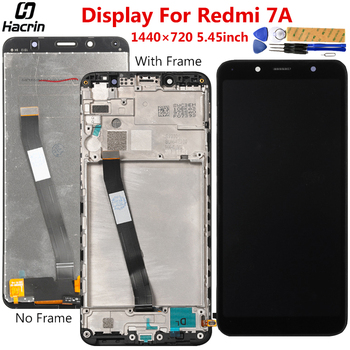 Display For Xiaomi Redmi 7A LCD Display Touch Screen Digitizer Assembly Replacement Display For Xiaomi Redmi 7A LCD Screen high quality lcd display for prestigio muze a7 psp 7530 duo psp7530duo psp7530 lcd display digitizer assembly replacement