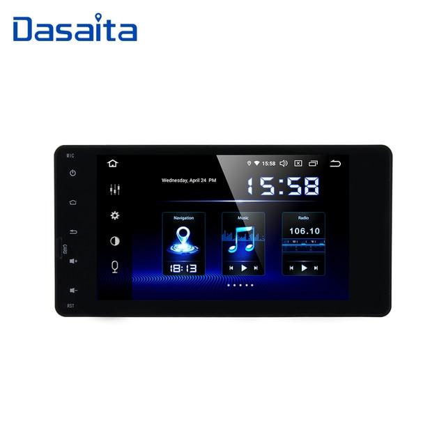 """Dasaita 7 """"z systemem Android 10 nawigacja samochodowa GPS Radio odtwarzacz dla Mitsubishi Outlander Lancer X ASX 2014 2015 z Octa Core 4GB 64GB Auto Stereo"""