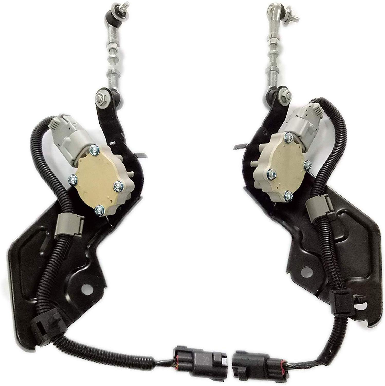 Un ensemble de nouveaux capteurs de contrôle de hauteur arrière R + L pour Toyota Land Cruiser Prado J120 120 2002-2009