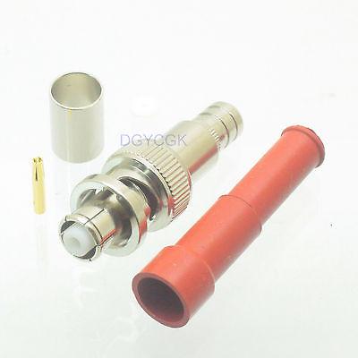 DHL/EMS 40 Pcs Connector SHV 5000V RP*BNC Male High Voltage Audio RG6 RG5 LMR300 Cable -h2