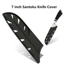 Stainless Steel Kitchen Knives Edge Guard Cover Chef Boning Fruit Utility Santoku Bread Slicing Chopping Nakiri Knife Sheath(China)