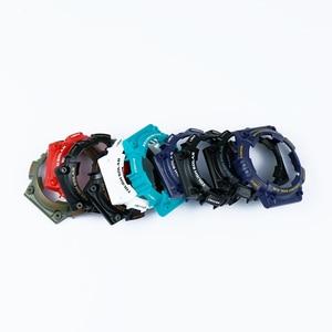 Image 5 - Uhr zubehör pin schnalle geeignet für Casio harz strap fall herren uhr mit AQ S810W AQS810WC sport wasserdichte uhr band