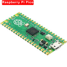 Raspberry pi pico placa rp2040 chip de alto desempenho de baixa potência duplo-núcleo braço cortex m0 + processador microcontrolador flexível