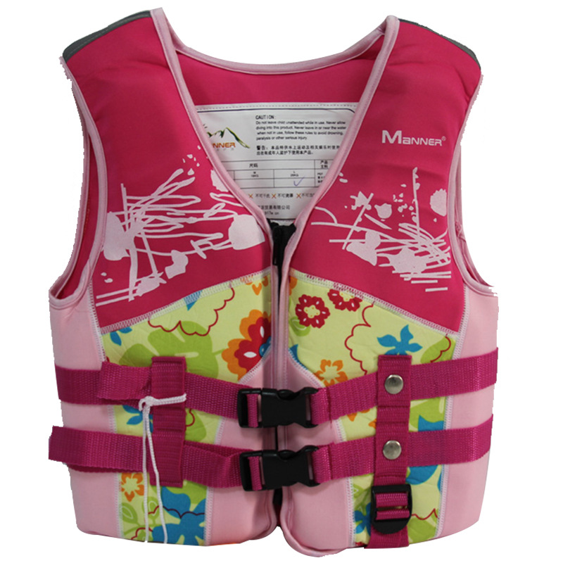 MANNER Children Fu Li Yi Adult Learning Swimsuit Snorkeling Vest Cross Border Non-Professional Life Jacket