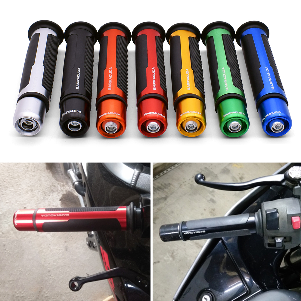 <font><b>Motorcycle</b></font> Anti-Skid Handle <font><b>Grips</b></font> Moto Cafe Racer Handle Bar Parts For <font><b>Yamaha</b></font> FZ07 FZ09 FZ6R FZ8 fz <font><b>1</b></font> 09 6 fzr 400 XSR 700 900 image