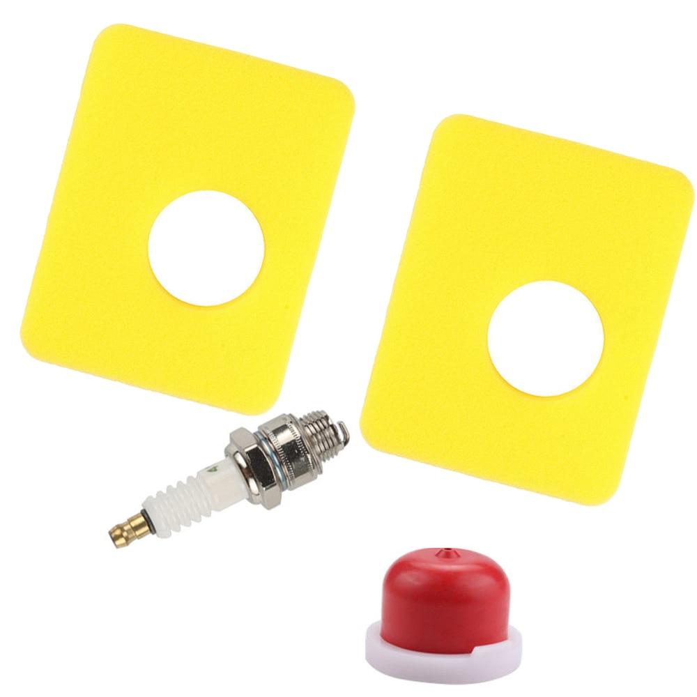 Air Filter Spark Plug Kit For Briggs & Stratton 300e 450e Series Engine 799579