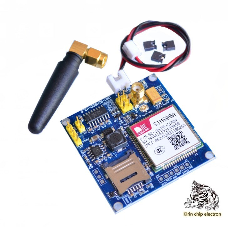 2pcs/lot SIM800A Module \ SMS \ Development Board \GSM\GPRS\STM32\ Exceed SIM900A\A6