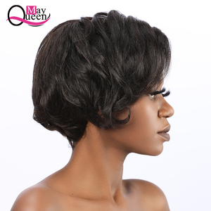 Image 4 - Pixie Cut Wig 13x4 Short Lace Front Human Hair Wigs Pre Plucked With Baby Hair Lace Frontal Wig Brazilian Hair