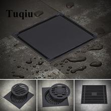 Tuqiu душевой сток в полу квадратный напольный сливной фильтр