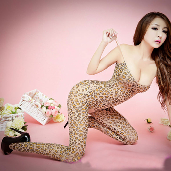 Leopard Body Stocking Sexy Suspender Bodysuits Lingerie Nets Clothing Sex Costumes Mesh Fishnet Open Crotch Bodystocking hot sexy lace neck fishnet body stocking sexy lingerie nets clothings sex costumes black mesh fishnet open crotch bodystocking