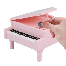 Piano-Style Coin Bank Coins Saving Money Box Jar Birthday Gift For Children