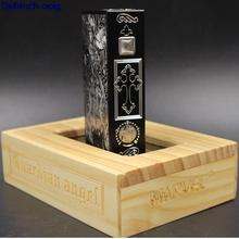 Marvec anioł stróż box mod napięcie zmienne podwójny 18650 218W Vape pudełko ze stopu aluminium 510 vape modów dla RDA RDTA RBA atomizer RTA tanie tanio Mechaniczne Mod 5000mAh Metal Marvec Guardian Angel box mod black gold Aluminum Alloy 95 x 25 x 59mm 0 1 ohm 2*18650 battery