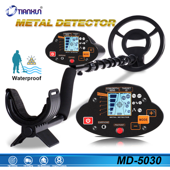 MD-5030 Professional Metal Detector Underground Depth Scanner Search Finder Gold Detector Treasure Hunter Detecting Pinpointer underground md 4030 metal detector adjustable gold treasure hunter finder detectors under shallow water md4030 circuit metales