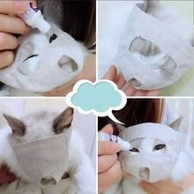 Регулируемая кошачья мордочка для домашних животных, маска против укусов, уход за кошкой, котенком, пастью, покрытие для лица, анти-укус, глаза, повязка на глаза, уход за кошкой, средства