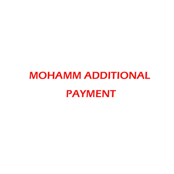 MOHAMM CHARGE for buyers not real product please do not buy this without contacting with sellers image