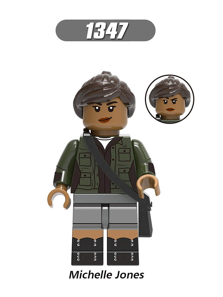 Single Sale LegoINGlys Enlighten Far From Home Spider-Man 2 Lizard FireElemental Michelle Jones Figures Toy Boys Gifts X0268