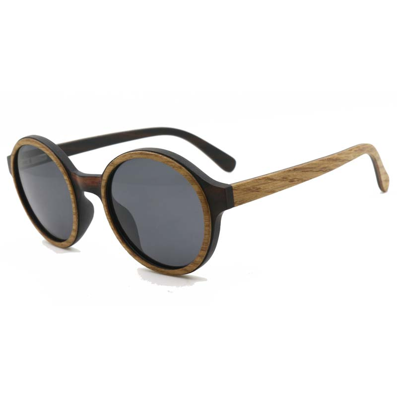BerWer Wood Sunglasses Polarized New Women Wooden Sunglasses Brand Designer Mirror Original Sunglasses