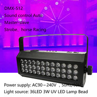 DMX512 Control Wash Beam stroboscop Ambient light super dye effect Stage Horse racing Effect Lighting DJ Disco Party Wedding