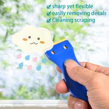 Car Tools Window Squeegee Water Wiper Handled Plastic Scraper Blade Auto Snow Shovel Glass Cleaner Tinting Tool