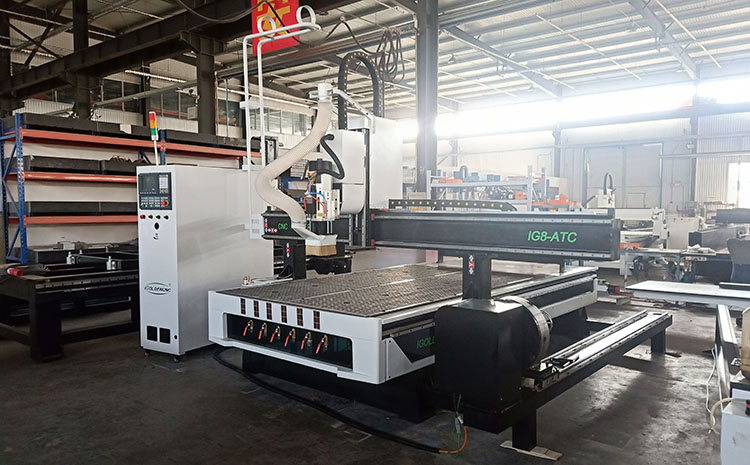 Cnc Wood Working Machine Atc Cnc Router Auto Tool Changer Cnc 1325 4 Axis With Rotary Attachment