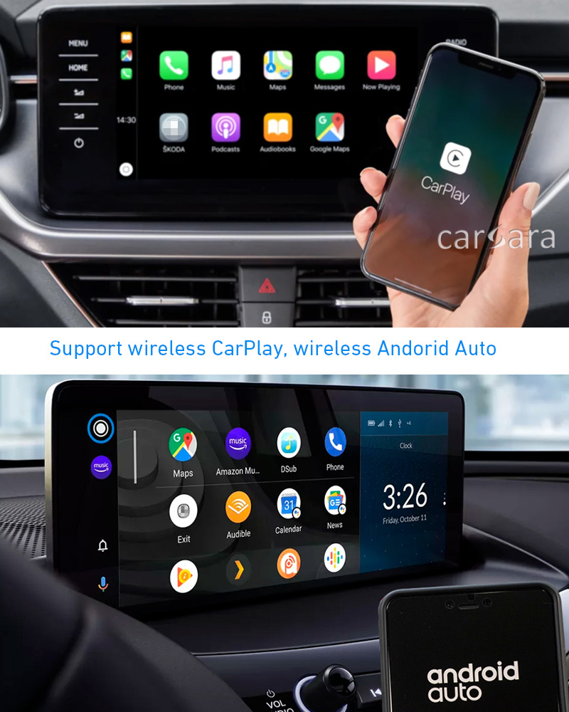 wireless carplay android auto