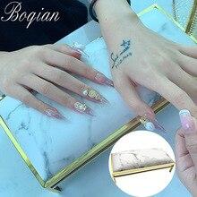 BQAN 1pcs Marbling Manicure Hand Pillow Nail Arm Rest Cushion Manicure Table Mat Arm Wrist Hand Rest Salon Cushion
