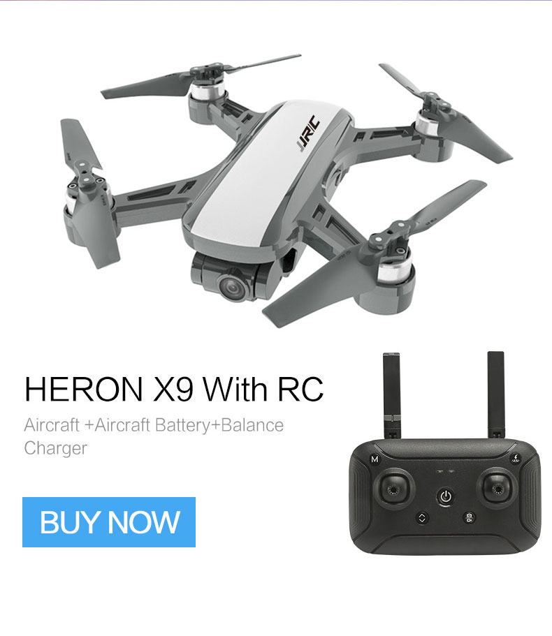 JJRC X9 Heron WiFi FPV with HD 1080P camera GPS Brushless Gimbal Optical Flow Positioning Altitude Hold RC Quadcopter Drone image