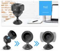 Cámara inalámbrica de visión nocturna por infrarrojos F8 2020 P, Mini videocámaras con aplicación V380 Pro, novedad de 1080