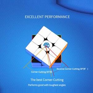 Image 3 - גן 356 R S RS 3x3x3 קסם קוביית 3x3 משודרג GAN356/356RS מקצועי neo מהירות קוביית פאזל Antistress צעצועים לילדים