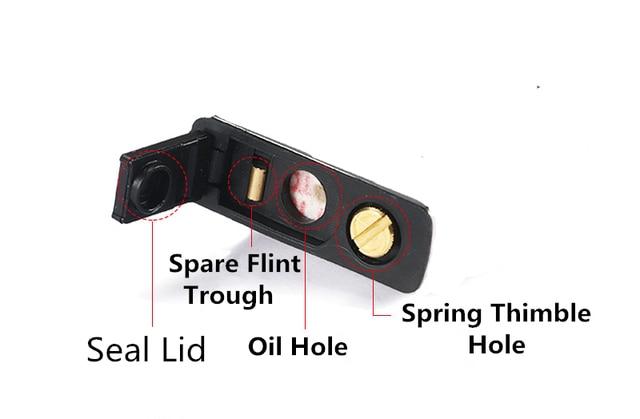 Reduce Gasoline Volatile Rubber Bottom For Zippo Kerosene Oil Lighter No Liner Replacement Inner Parts Accessory Smoking Gadget 3