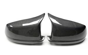 Image 5 - Hinzufügen Auf/Ersatz Stil Glanz Schwarz Carbon Fiber Körper Seite Rückspiegel Abdeckung Für BMW 5 Serie f10 2010 2011 2012 2013