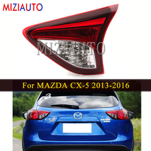 цена на Rear tail light Inner side For MAZDA CX-5 2013-2016 Car Accessories Rear Brake Bumper Light Tail Stop Turn Signal Lamp