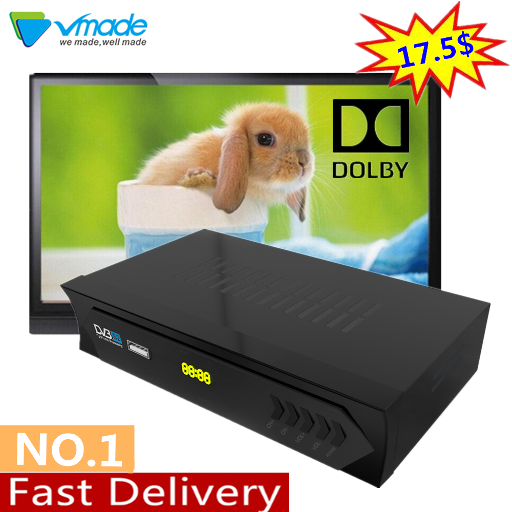 Vmade Openbox DVB S2 M5 Decoder Digital Full HD Satellite Receiver TV BOX Support Dolby,Youtube,Biss,CCCAM,IPTV Set Top Boxes