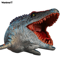 World-Mosasaurus-Toy Cake-Topper-Collection Animal-Figurine for Bath-Pool-Toy Sea-Creature