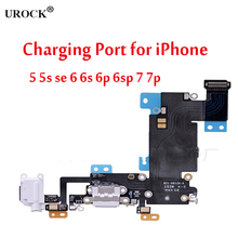 Standard Size USB Charging Dock Port Connector Earphone Jack Flex Cable
