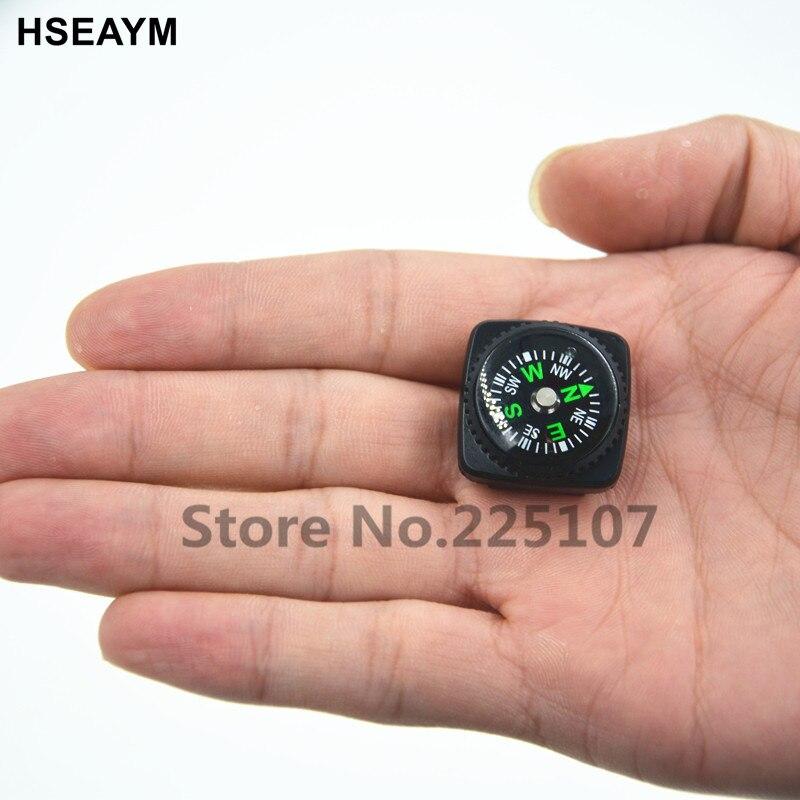 HSEAYM 20 мм кожаный чехол компас часы лента автомобиль Кемпинг Туризм направляющий портативный ручной компас