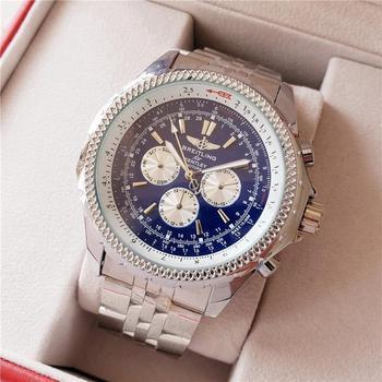 Mens Watches Top Brand Luxury Tonneau Case Tourbillon Automatic Mechanical Male Clock Leather Band Wristwatch 644