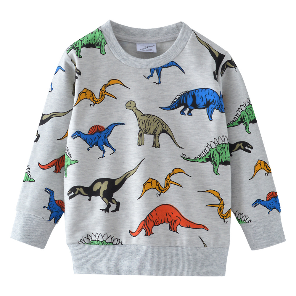 Little maven 18M-7Years Spring Autumn Tiger Toddler Kids Baby Boys Sweatshirt  Children's Little Clothing For Boy's Sweater 3