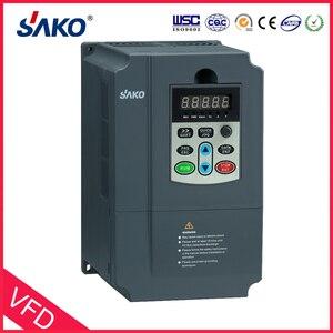 Image 2 - Inversor fotovoltaico sako vfd 380v 7.5kw, controlador de energia solar para uso de bomba
