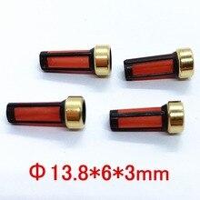 Высококачественный микрофильтр топливного инжектора 13,8*6*3 мм MD619962, 20 шт., оптовая продажа, для японских автомобилей 0280156139