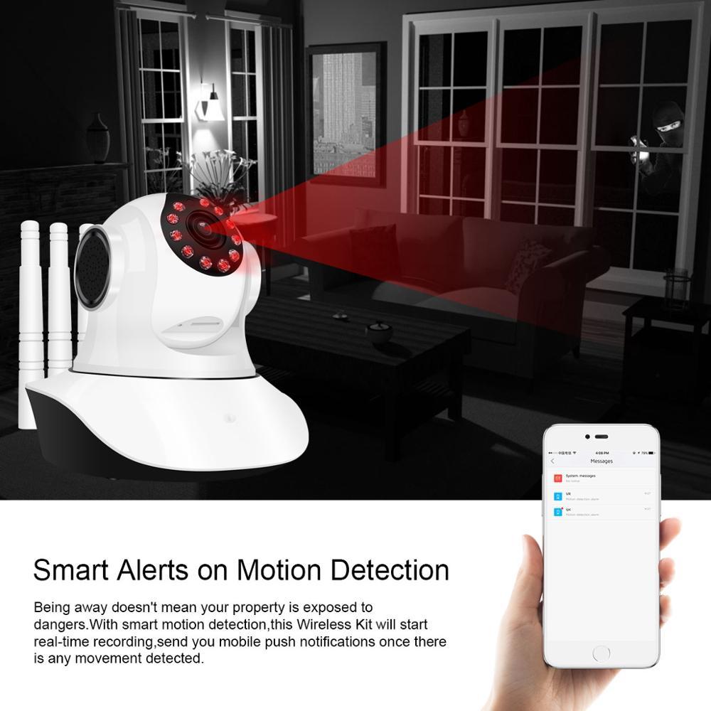 Home Security IP Kamera Wireless Smart WiFi Kamera WI-FI Audio Record Überwachung Baby Monitor HD Mini CCTV Kamera 2MP Kamera