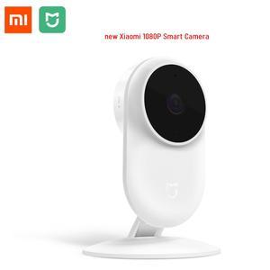 Image 1 - Original Xiaomi Mijia New 1080P IP Camera 130 Degree FOV Night Vision 2.4Ghz Dual band WiFi Xiaomi Home Kit Security Monitor