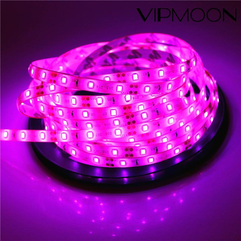 2835 smd led strip luz dc12v 5m 300leds fita flexível iluminação branco quente branco vermelho verde azul amarelo rosa rgb
