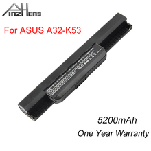 PINZHENG 5200mAh Laptop Battery For ASUS A32-K53 X43 K53 Series 6 Cells Laptop Bateria X44H X54H X84H X43B Replacement Battery kingsener 10 8v 5200mah a32 k53 battery for asus k43 k43e k43j k43s k43sv k53 k53e k53f k53j k53s k53sv a43 a53s a53sv a41 k53
