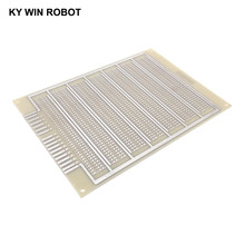 1 шт. DIY 11,8*16,3 см Односторонний Прототип бумаги PCB Универсальный Эксперимент Матрица печатная плата три отверстия 11,8x16,3 см для Ardui
