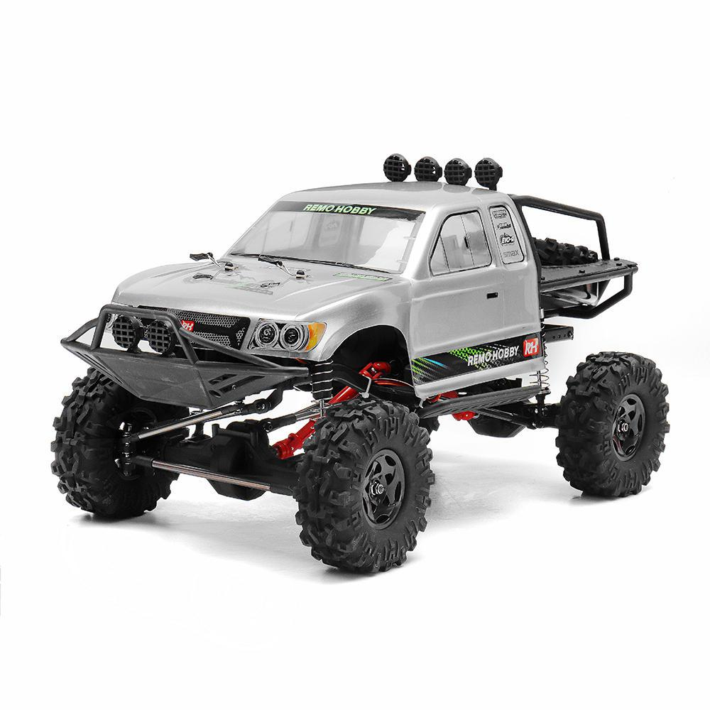 RCtown Remo Hobby 1093-ST 1/10 2.4G 4WD Waterproof Brushed Rc Car Off-road Rock Crawler Trail Rigs Truck RTR Toy