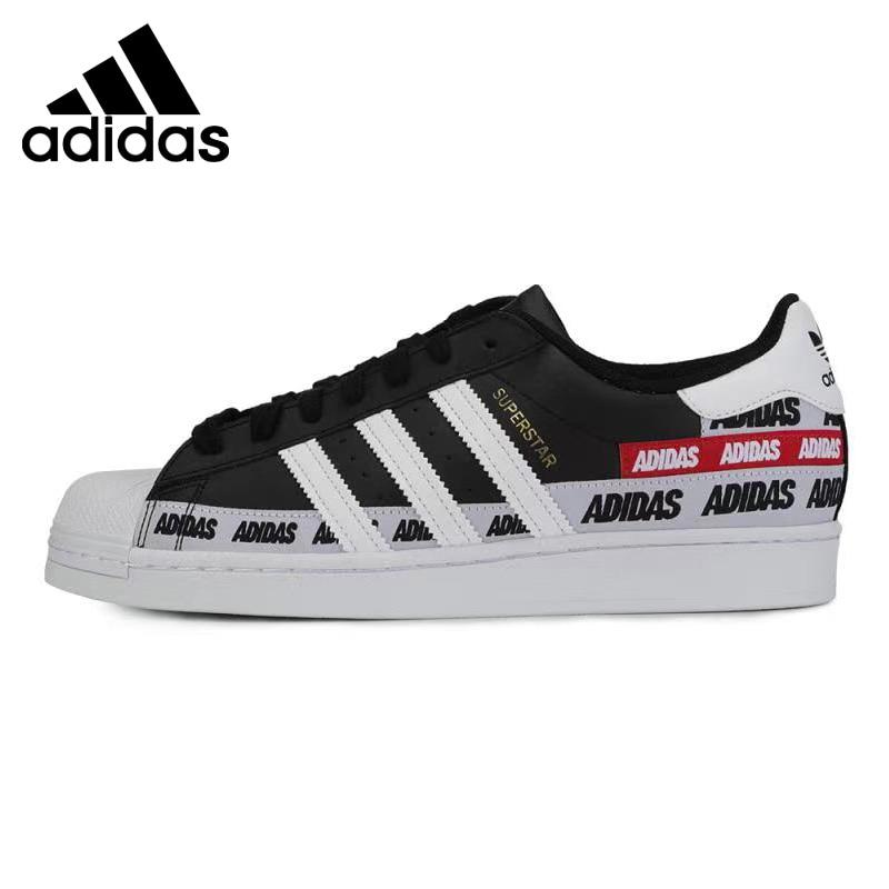 منتج أصلي وصل حديثاً أحذية تزلج رياضية أصلية من Adidas SUPERSTAR للجنسين|أحذية التزلج| - AliExpress