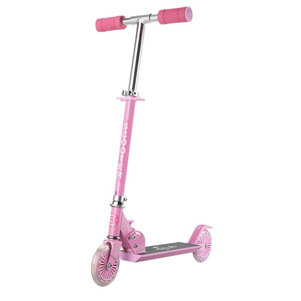 Самокат складной Фристайл Уличный Скейтборд цикл Ховерборд скейтборд Регулируемый 2 колеса 120 мм детский подарок для мальчика девочки - Цвет: Model 1