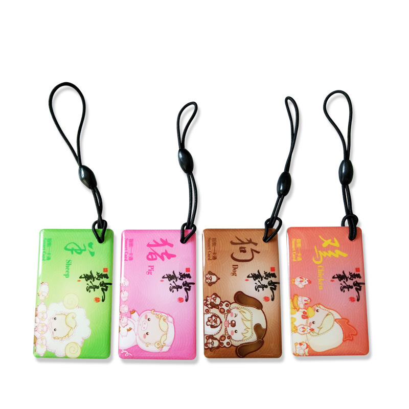 10pcs Smart Lock Card Access Card Fingerprint Lock IC Card Epoxy Card Printed Pattern For Access Control System Key