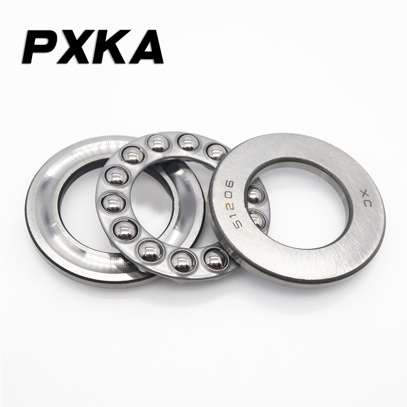 Free Shipping 4pcs High Quality Plane Thrust Bearing 51100 51101 51102 51103 51104 51105 51106 51107